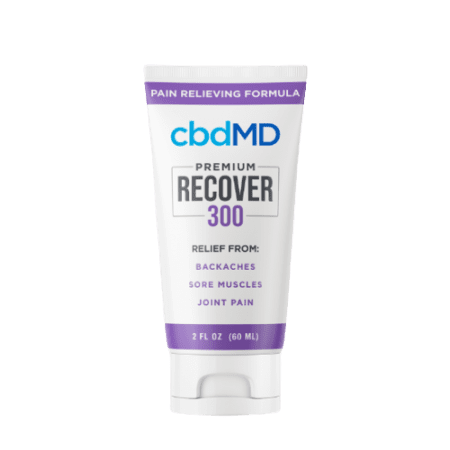 CBD lotion Recover, for best pain relief clinic in Valparaiso.